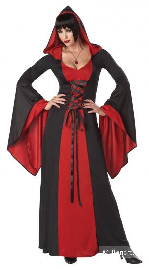 Карнавальный костюм (Колдунья, ведьма) размер XL (48-50)