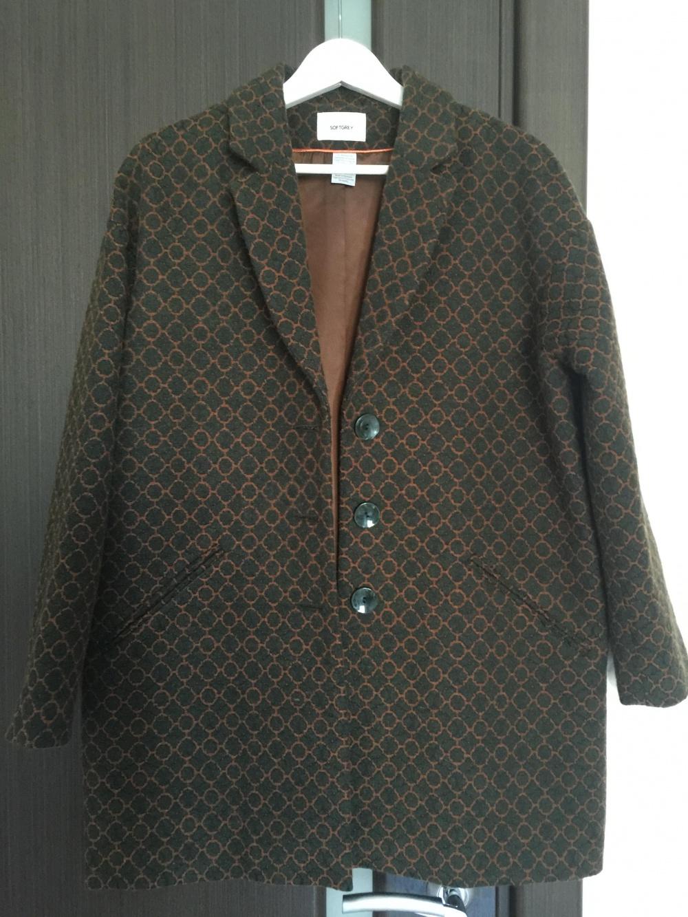 Пальто Soft Grey осень-весна, размер 44-46
