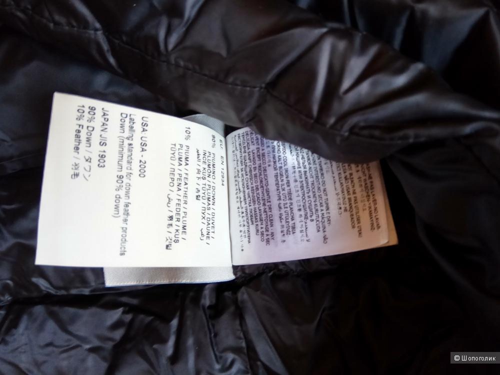 Платье-полупуховик Moncler ,46,с утепленной юбкой