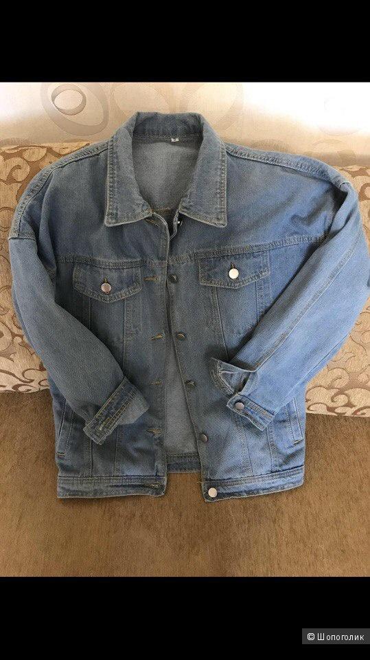 Джинсовая куртка Shein оверсайз. Размер M.