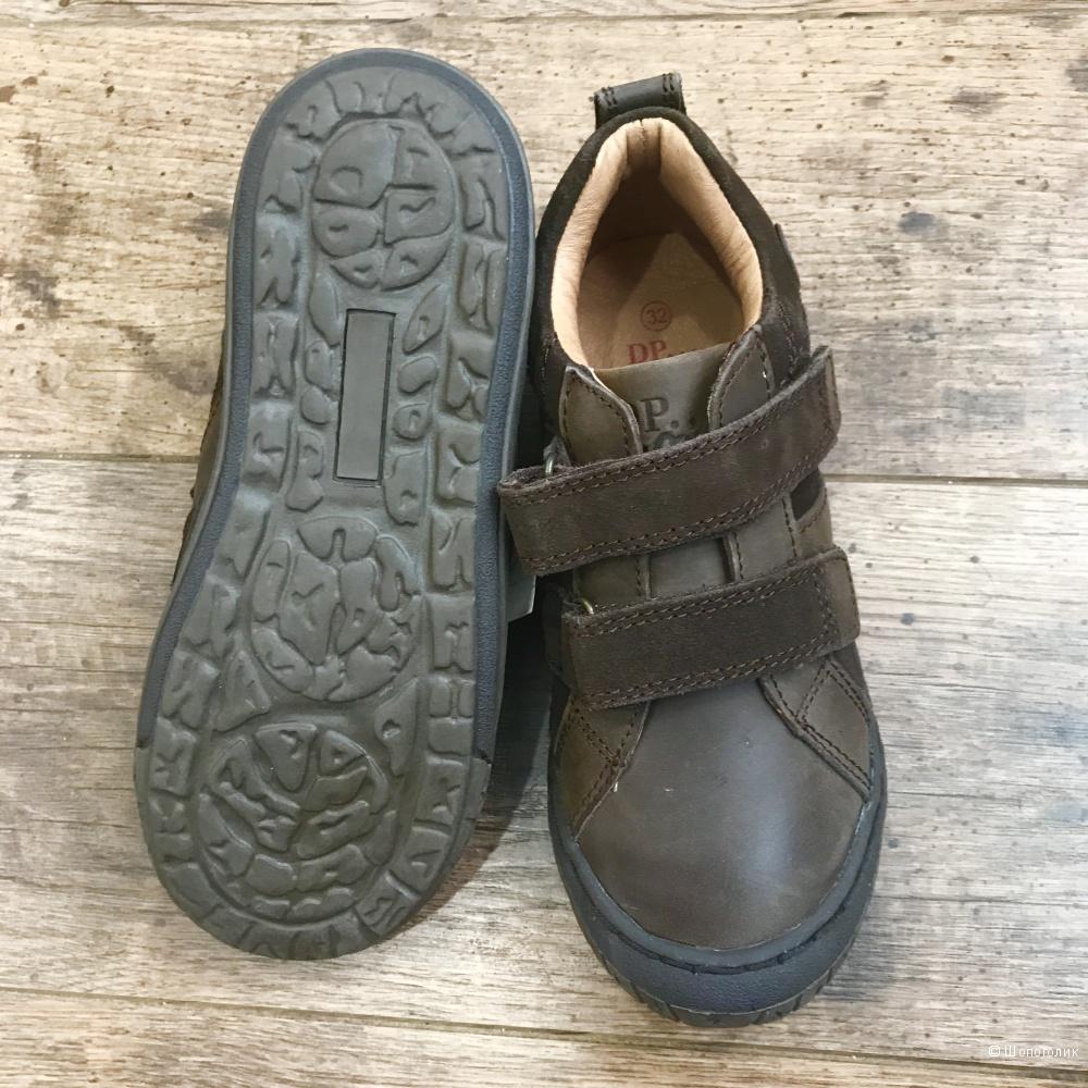 Ботинки из натуральной кожи, DPAM(Франция), 32