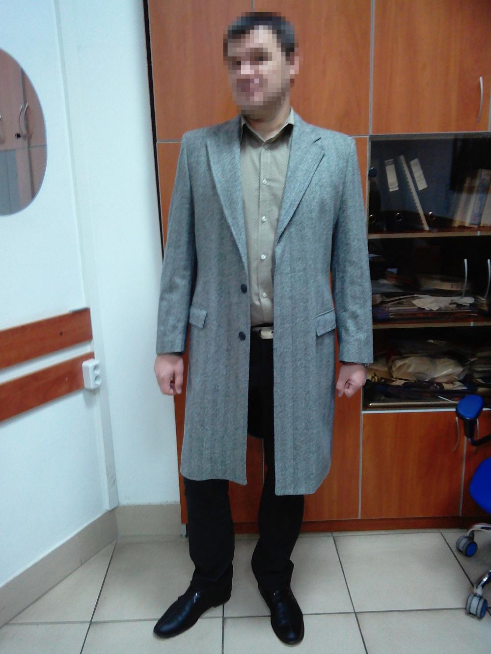 Пальто мужское Givenchy размер: 52–54 (XXL)