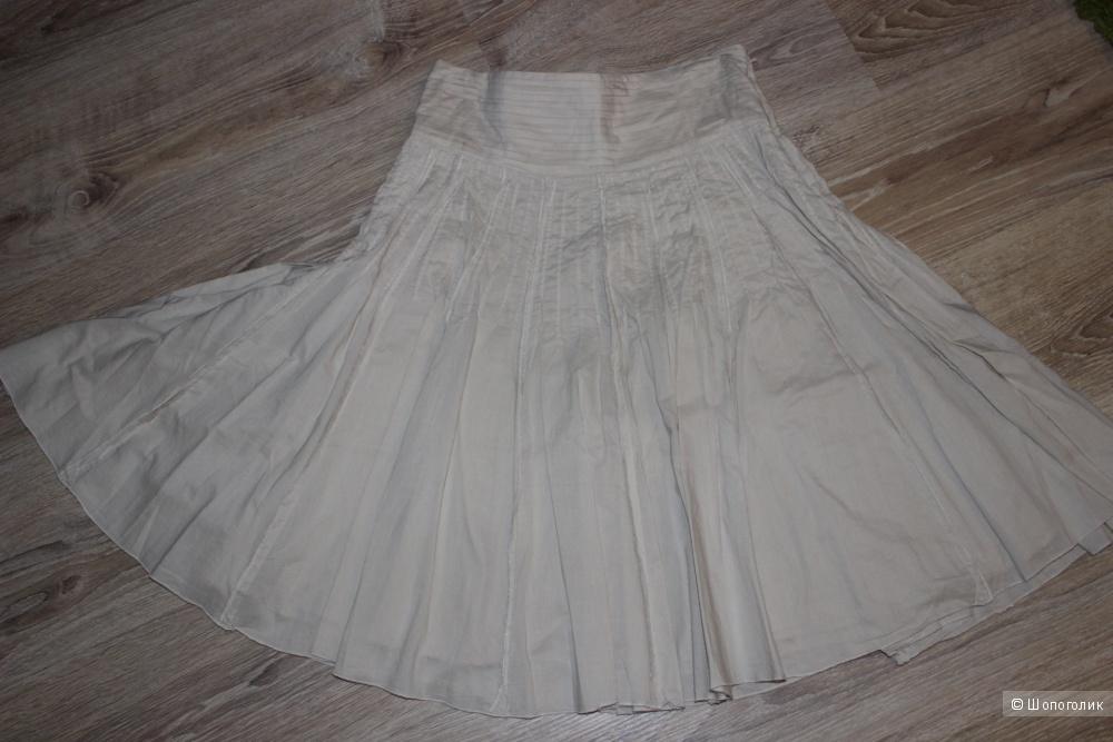 Хлопковая юбка MARKS&SPENCER, размер 44-46
