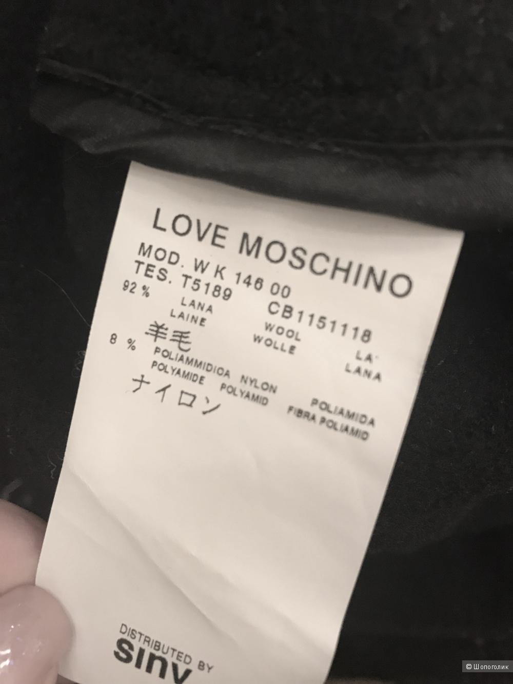 Пальто Moschino, размер 42-44.