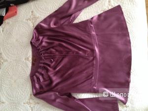 Блуза из натурального китайского шелка 44 р.