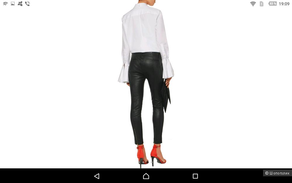 Кожаные брюки  J BRAND р-р 29