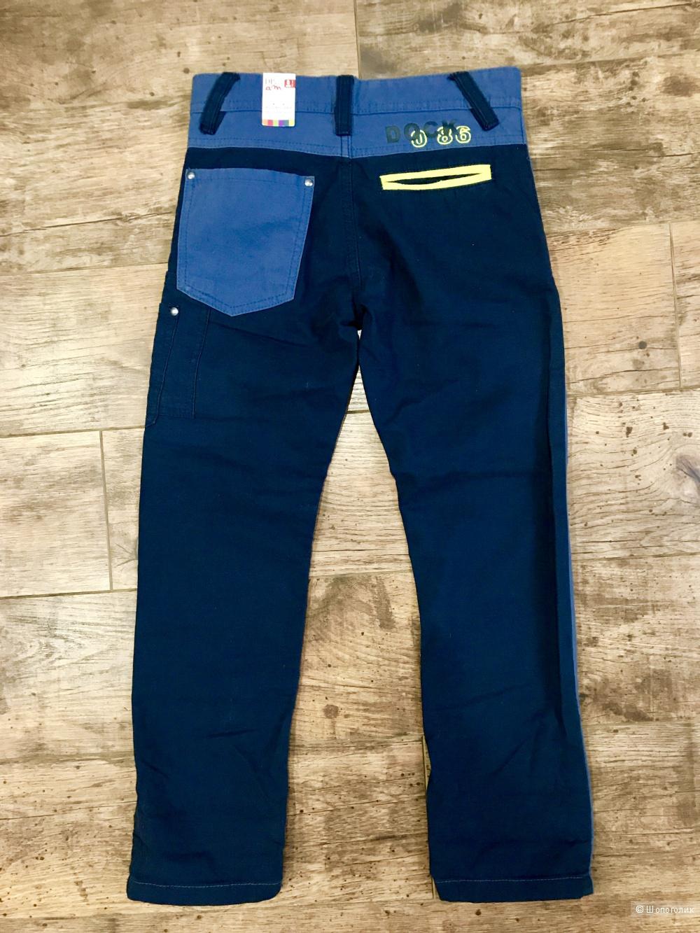 Брюки (джинсы) для мальчика, DPAM (Франция), 126 (8 лет)
