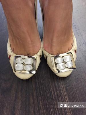 Итальянские туфли AndreAlattanzi 35-36 размер