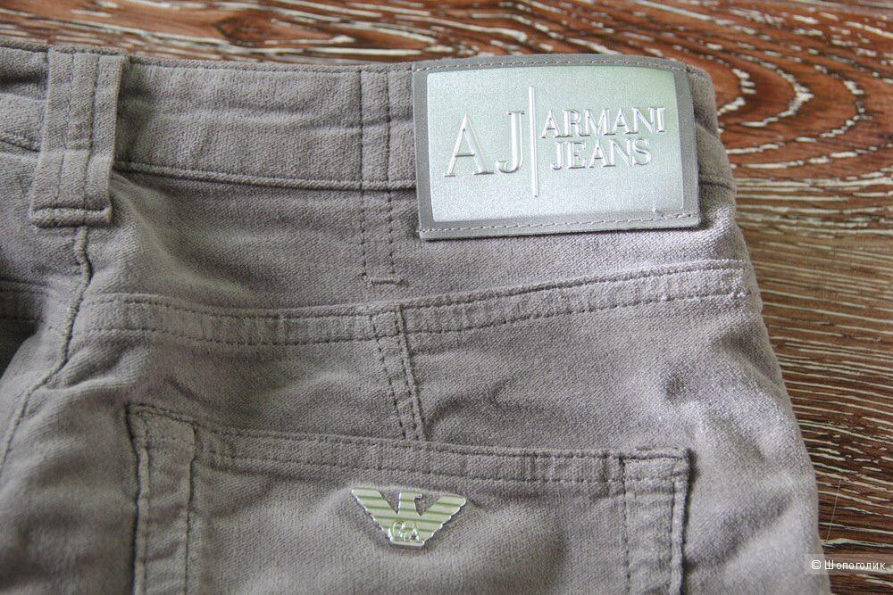 Вельветовые брюки Armani Jeans 27 размер