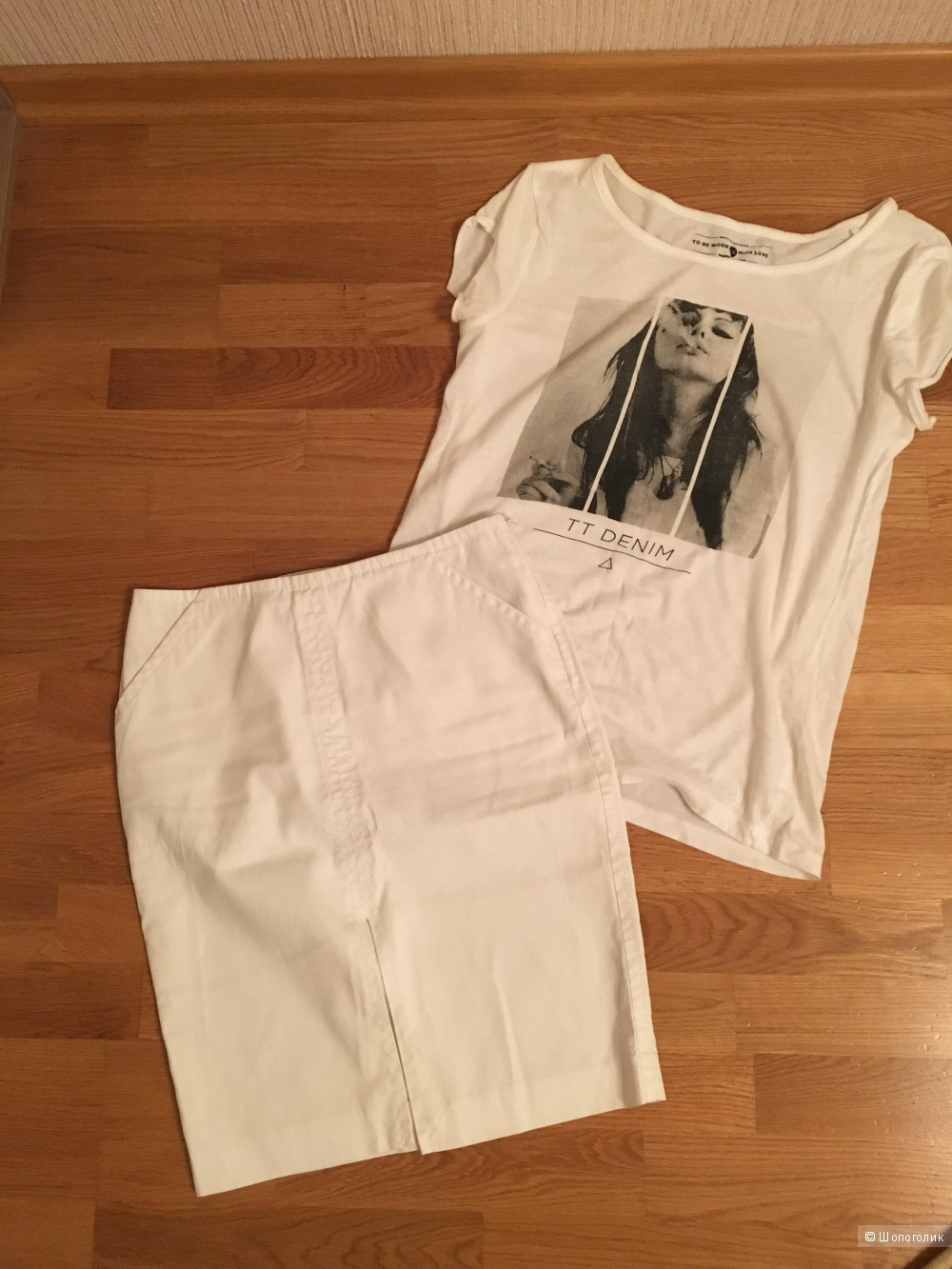 Сет из юбки с топом xs