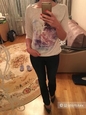 Сет джинсы mavy и свитшот xs
