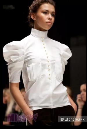 Zara Woman: стильная блузка с рукавами-буфами, М