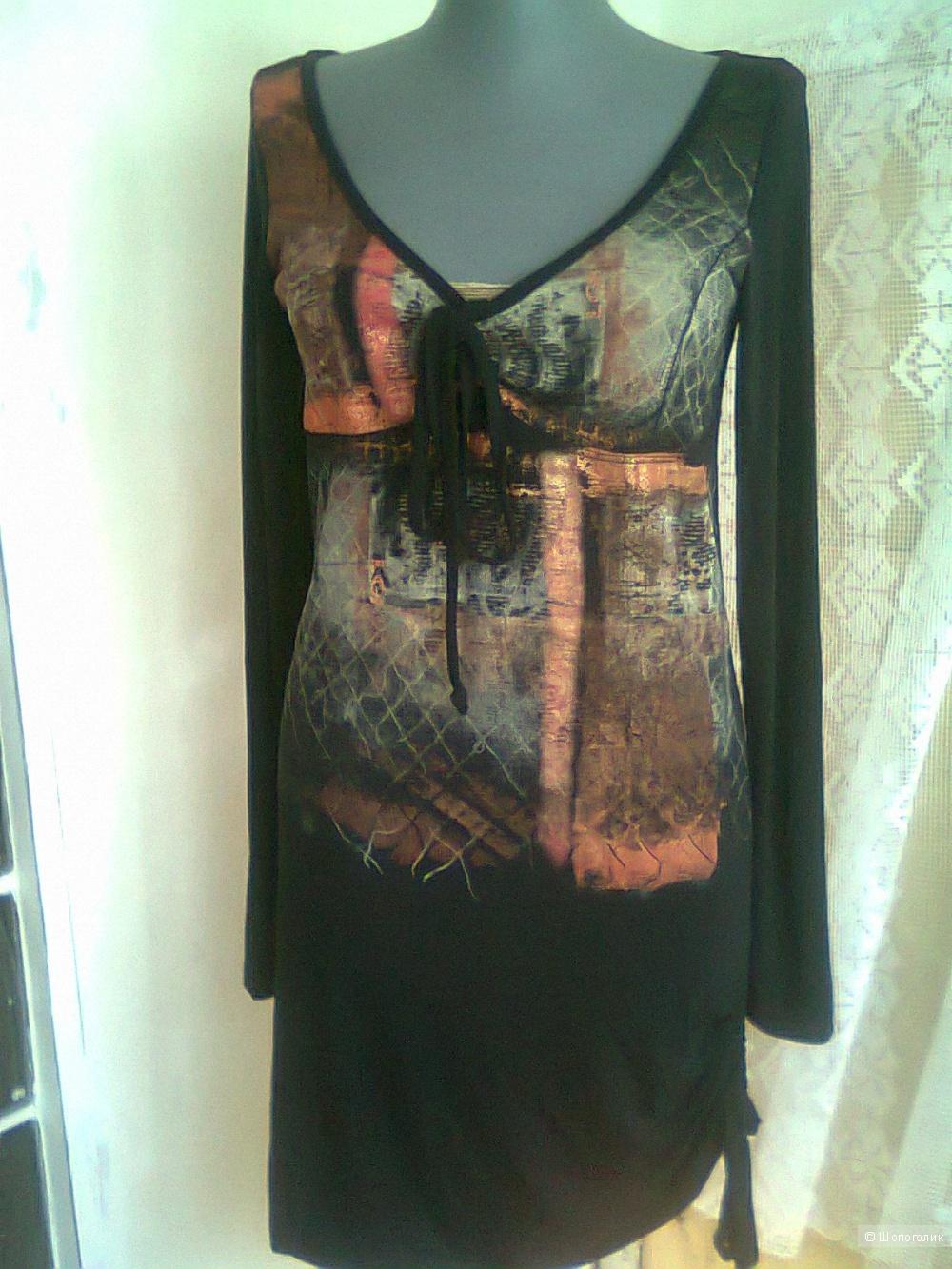 Платье туника LEGATTE Италия новое  р II (46) бренд люкс
