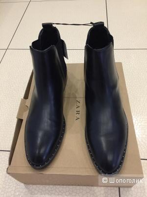 Ботинки новые Zara р 40 EUR
