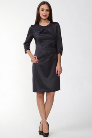 Темно-синее платье, 44 размер
