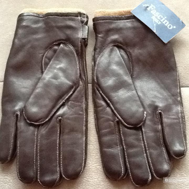 Новые мужские перчатки размер 9,5 Италия
