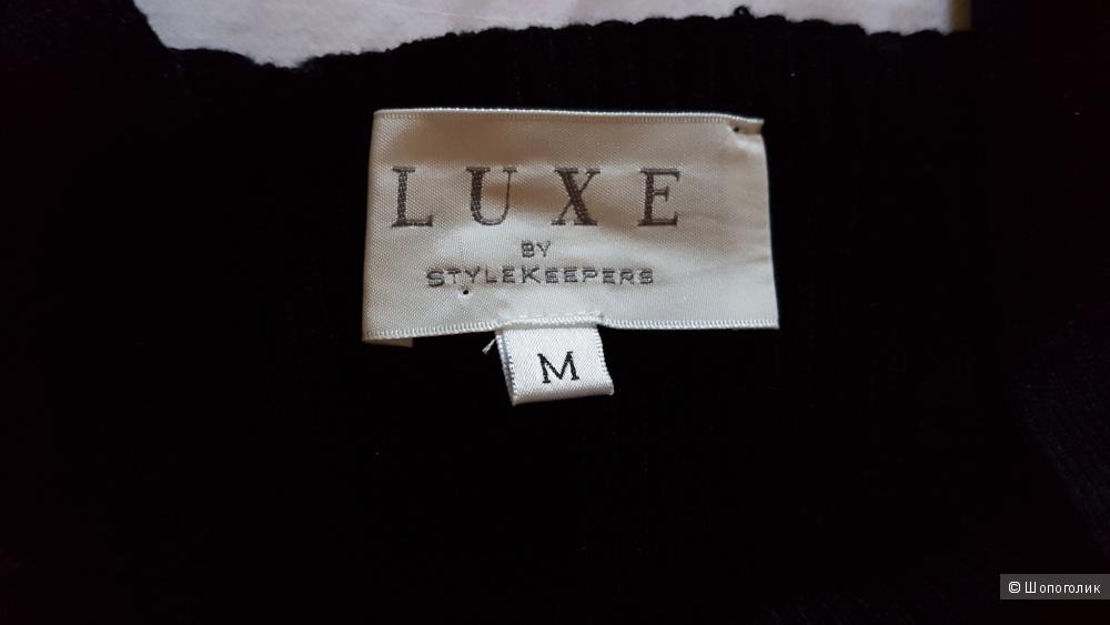 """Чёрное трикотажное боди """"Luxe by stylekeepers"""""""