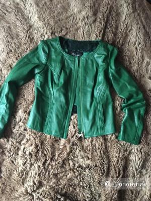 Куртка кожаная Nysense, размер FR36, EUR36, US6, CN М