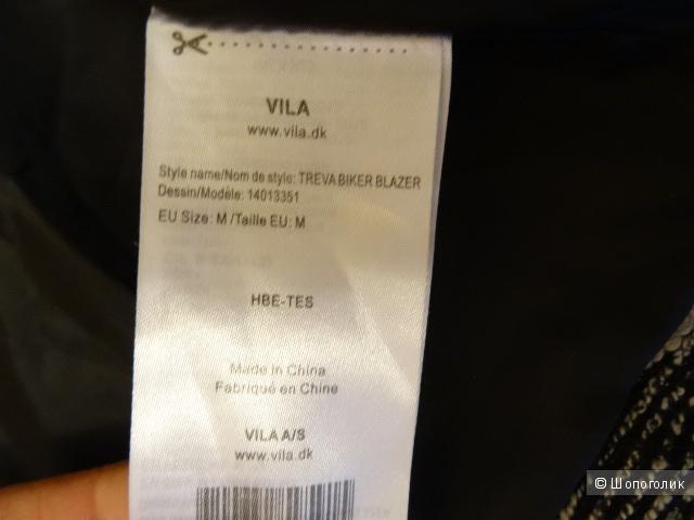 "Пиджак-косуха ""Vila"", размер 44, б/у"