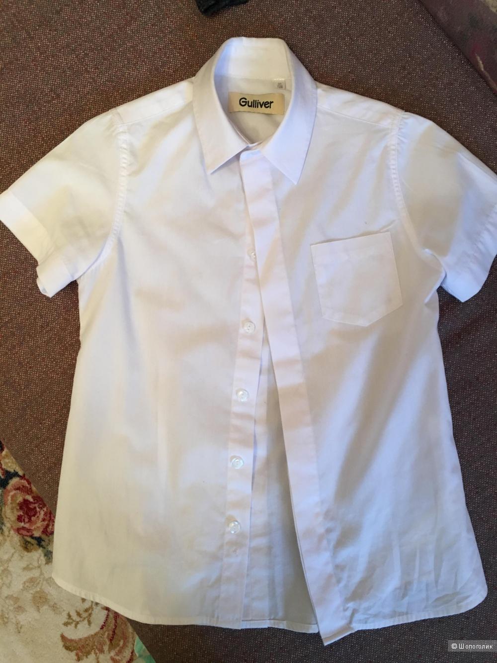Рубашка gulliver 8лет