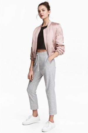 Укороченные трикотажные штаны  HM размер S
