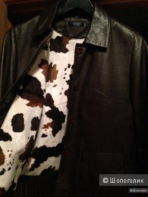 Кожаная куртка VICENTY BERND BERGER,38d,46-48 russ