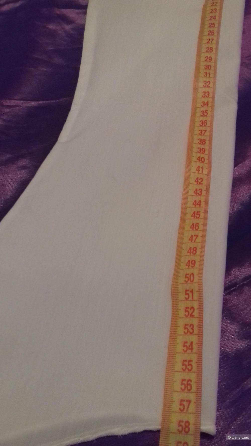 Красивая белая блузка MARGO на 44- 46 размер