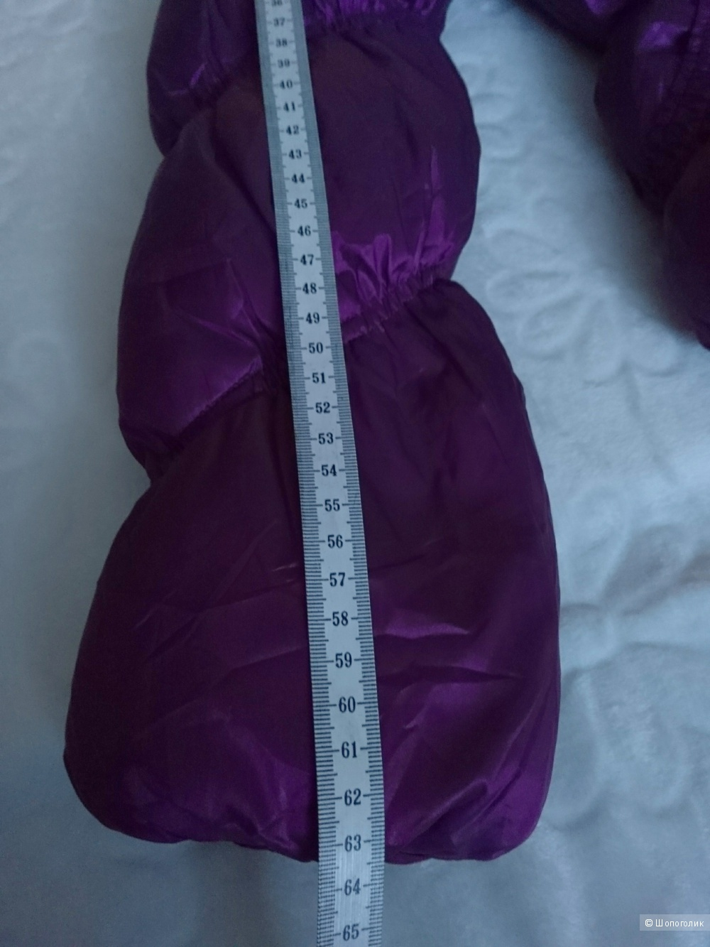 Пуховик зимний на девочку размер 40-42