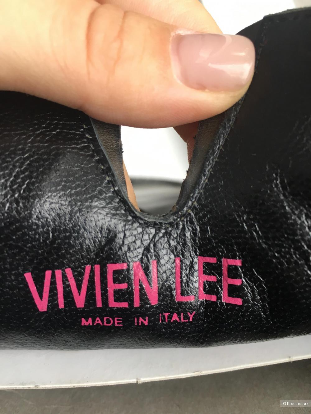 Сапоги осенние женские Viviene Lee размер 37 европейский