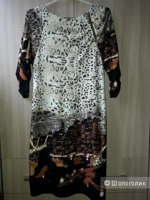 Офисное платье, размер 44