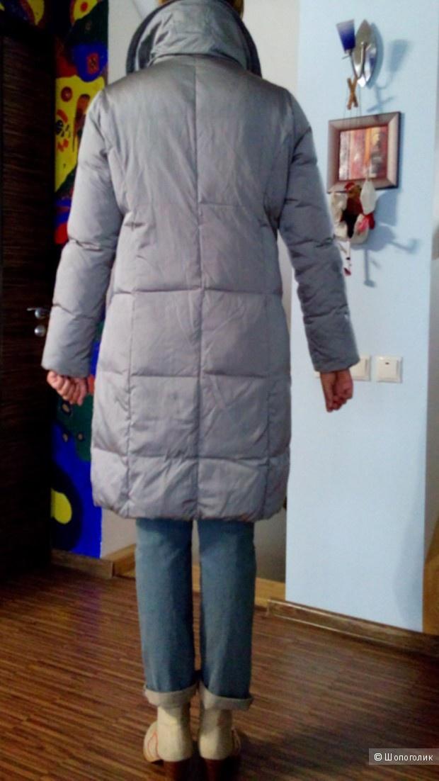 Пуховик-пальто длинный MADELENE Германия в размере 38D 12 GB(46-48)