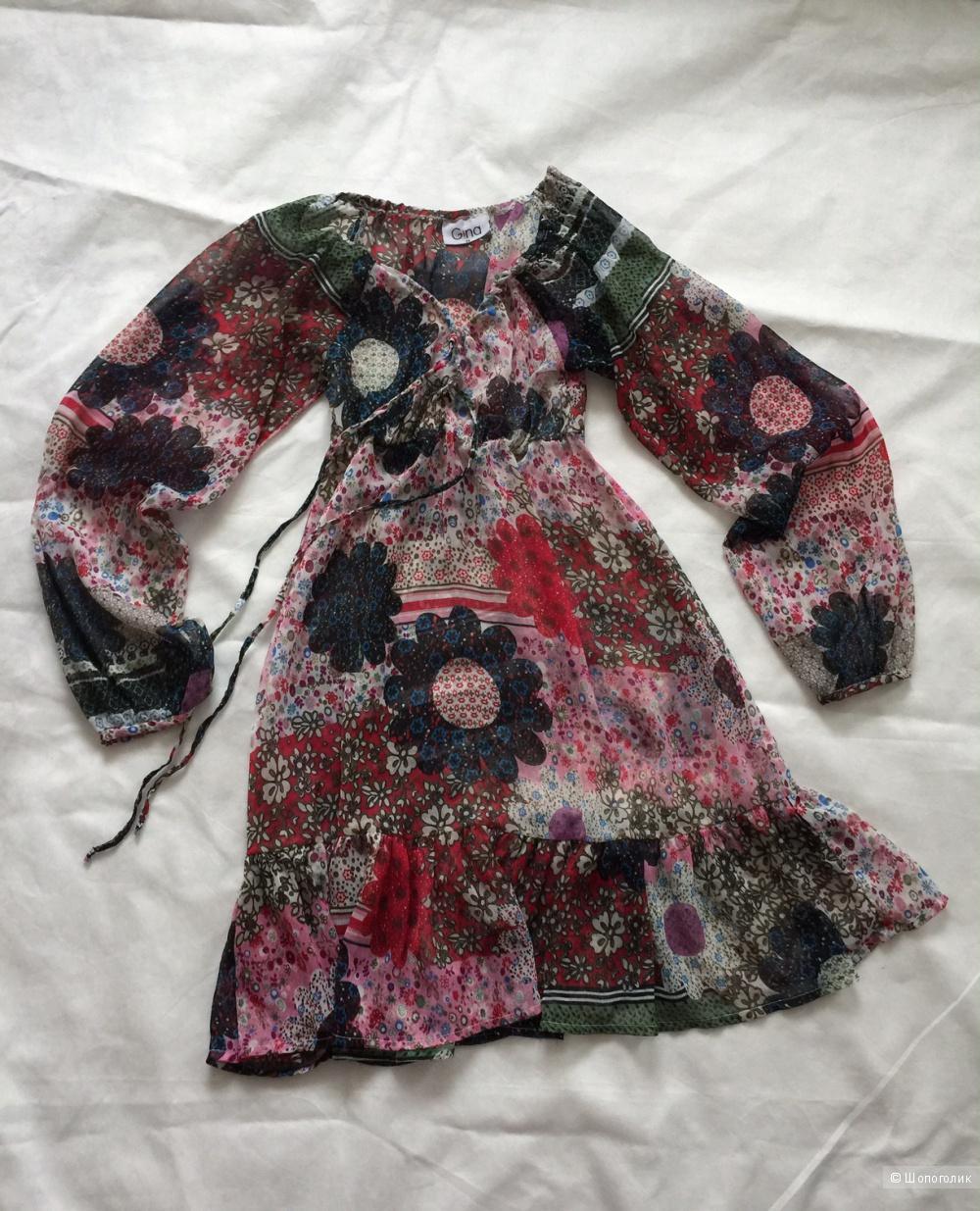 Шифоновое платье в стиле бохо Gina размер xs