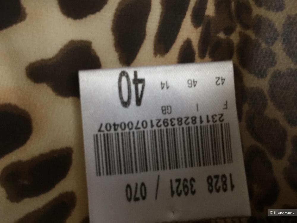 Вечерняя накидка  с леопардовым принтом марки VERA MONT рамзер M