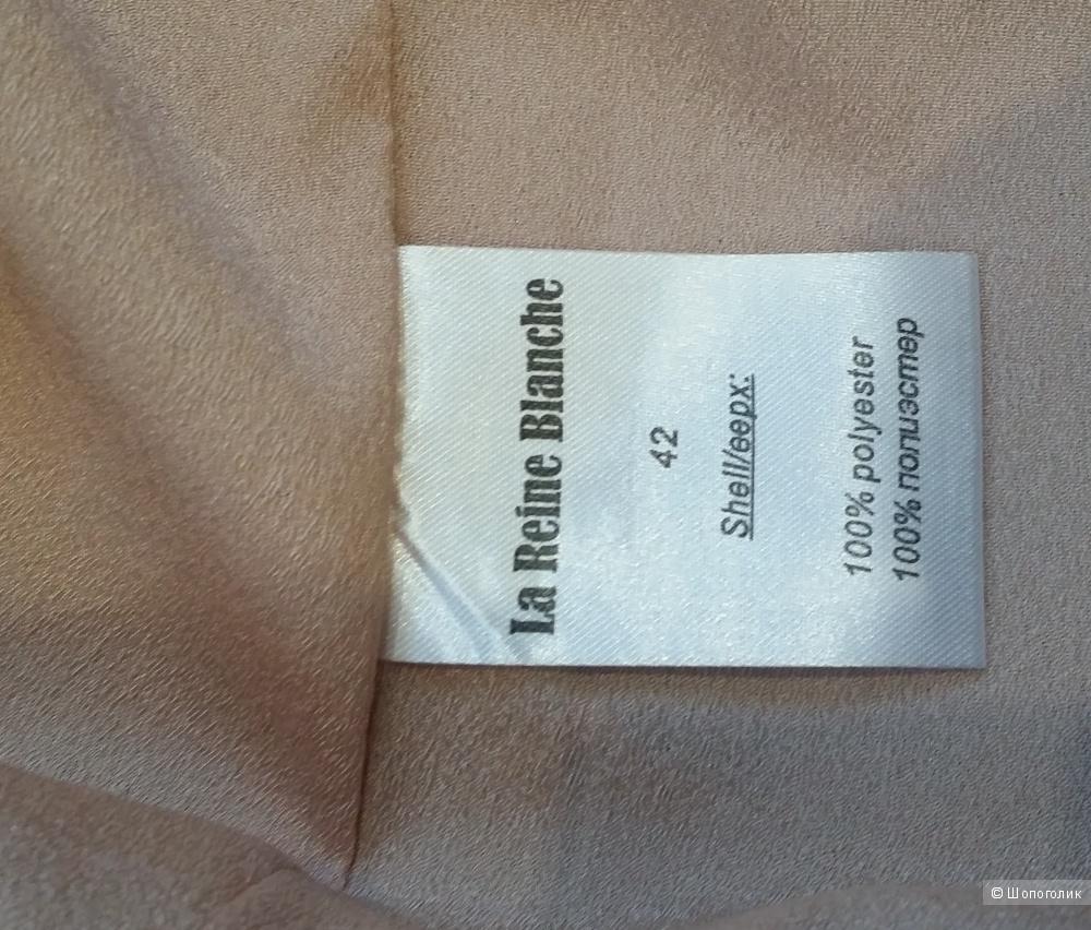 """Длинная  юбка нежнейшего оттенка """"пыльной"""" розы La Reine Blanche 42 размера"""