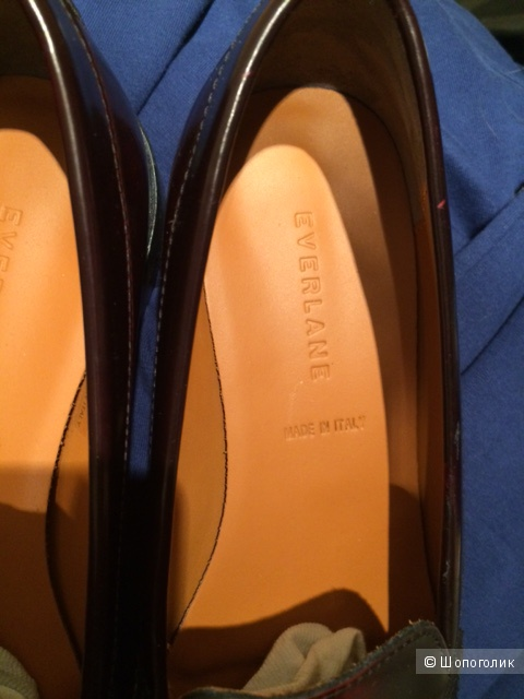 Туфли лоферы Everlane, размер 37,5-38