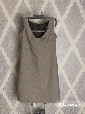 Платье-сарафан на молнии шерстяное, Westland, размер XL (48-50)