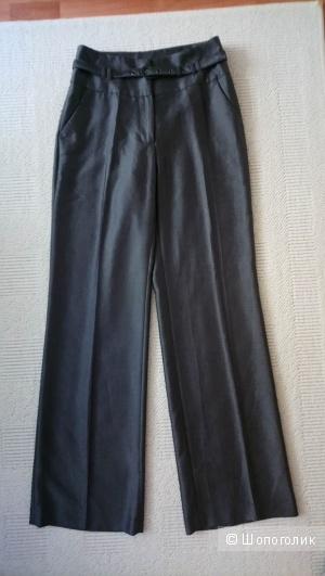 Широкие серые брюки Ostin, р-р 42-44