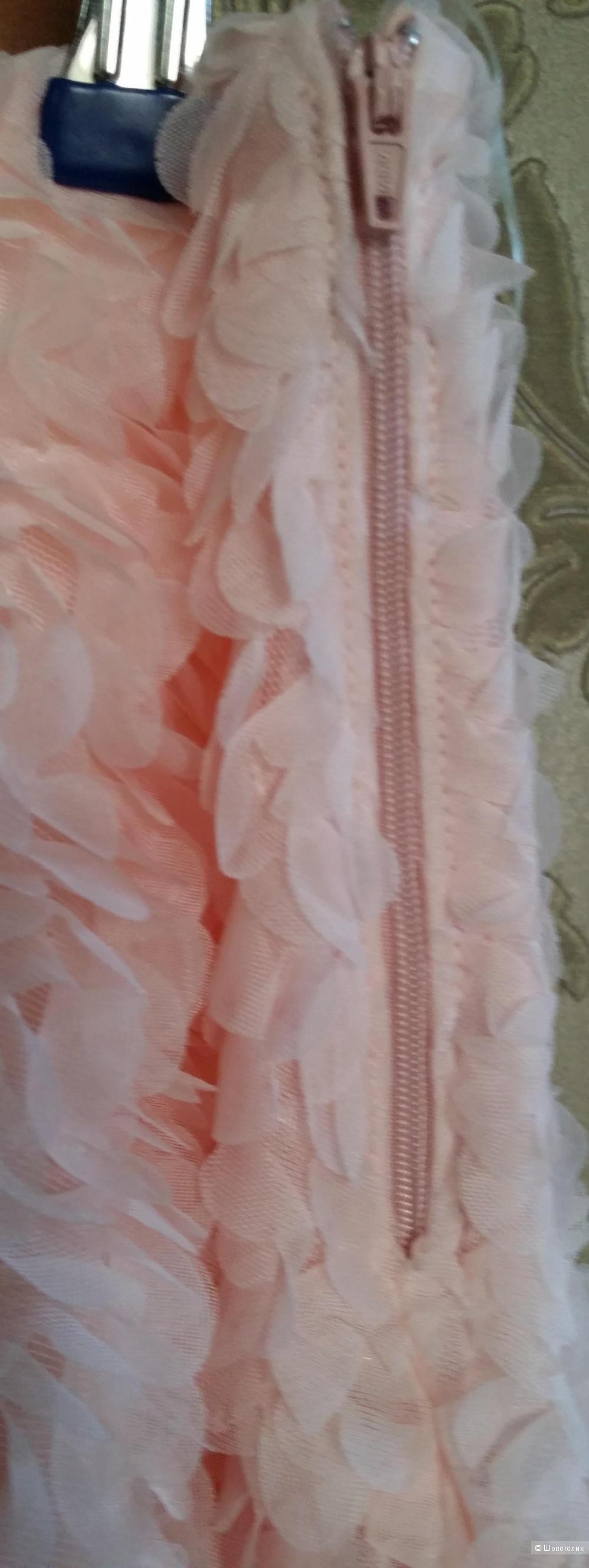 Воздушная юбка нежнейшего розового оттенка La Reine Blanche 42 размера