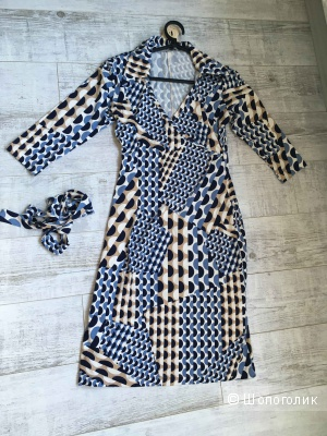 Новое трикотажное платье Visavis, вискоза, размер S (44-46)