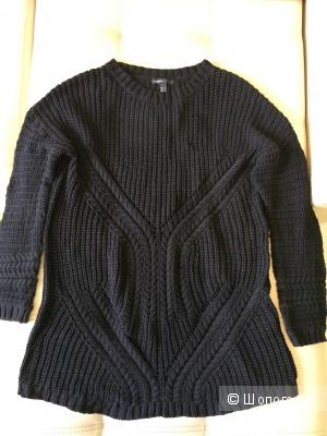Кофта черная вязаная 48-52 размер