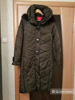 Пальто женское на синтепоне, 42-44 размера