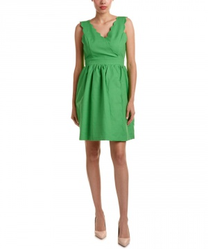Платье Elizabeth McKay размер 2, но сильно большемерит (реальный размер 4)