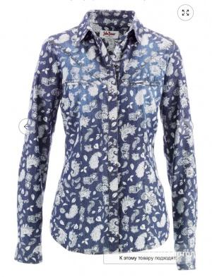 Рубашка джинсовая, John Baner , разм. S