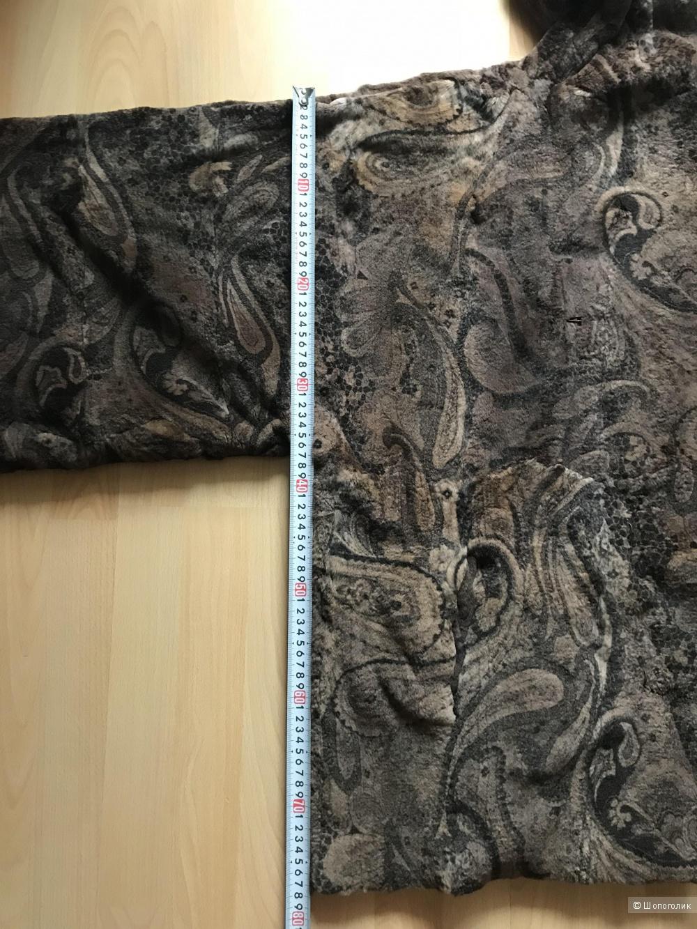 Меховое кимоно из бобрика 48-50 Италия