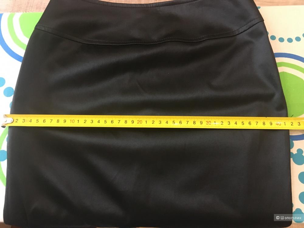 Юбка-карандаш из атласа, Avelon, новая, размер 40 рус