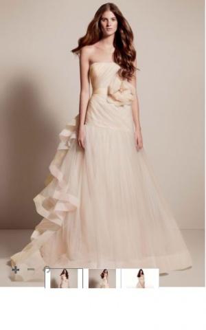 Свадебное платье Vera Wang размер 6 (американский)