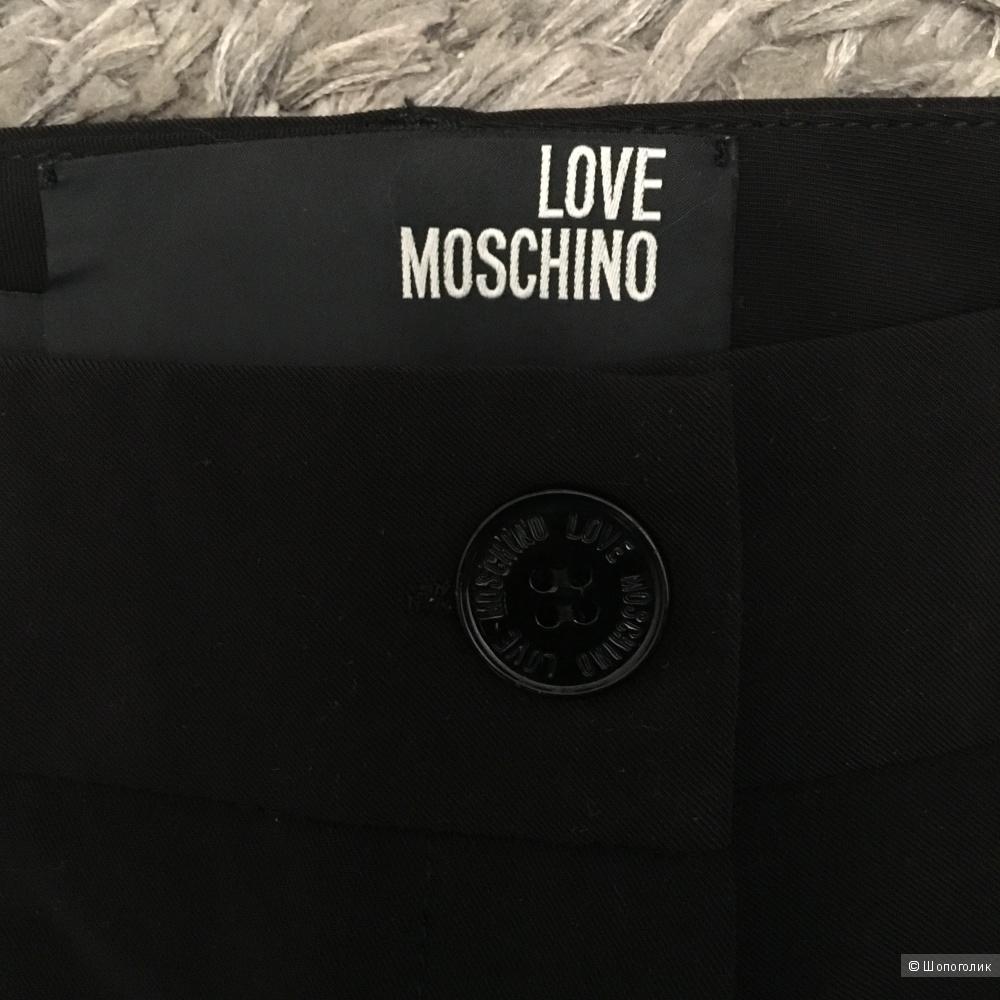 Брюки черные LOVE MOSCHINO  42 IT