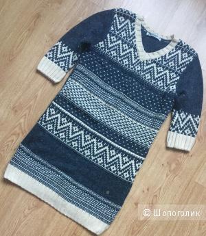 Женское вязаное платье F5 (размер XS 40-42 рос)