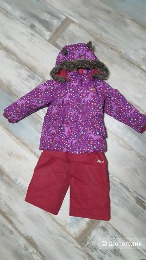 Зимний костюм для девочки GUSTI, рост 104