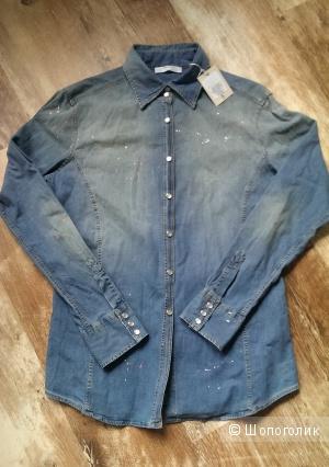 Женская джинсовая рубашка AGLINI (50)